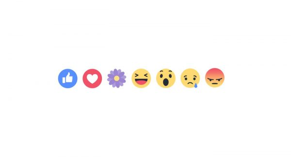 Facebook's purple reaction to celebrate Mother's Day