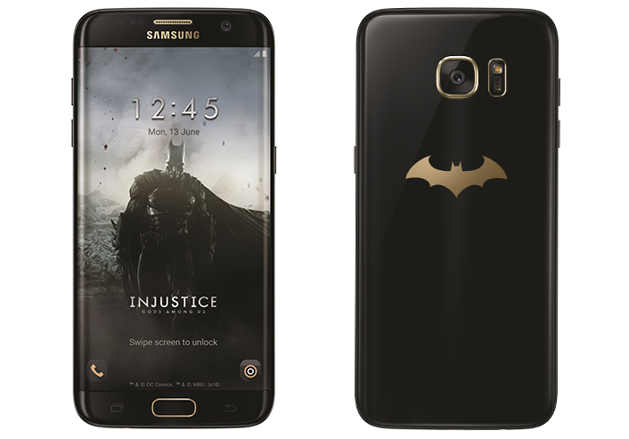 Samsung launched Batman Inspired Samsung Galaxy S7 Edge