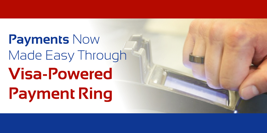 NFC introduces visa powered payment ring